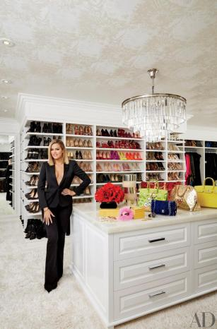 Kourtney and Khloe Kardashian show off their mansions in Architectural Digest