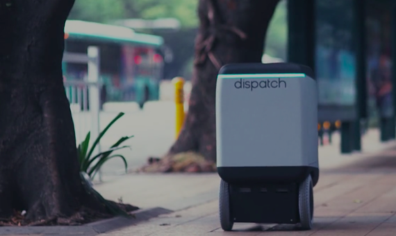 Why your next UPS driver might be an ugly robot on wheels