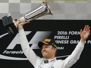 Rosberg eases to Chinese Grand Prix victory for season hat-trick