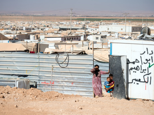 Temporary refuge becomes permanent home for Syrians in Jordan camp