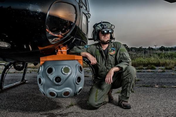 Elbit demos new BrightNite helicopter vision device