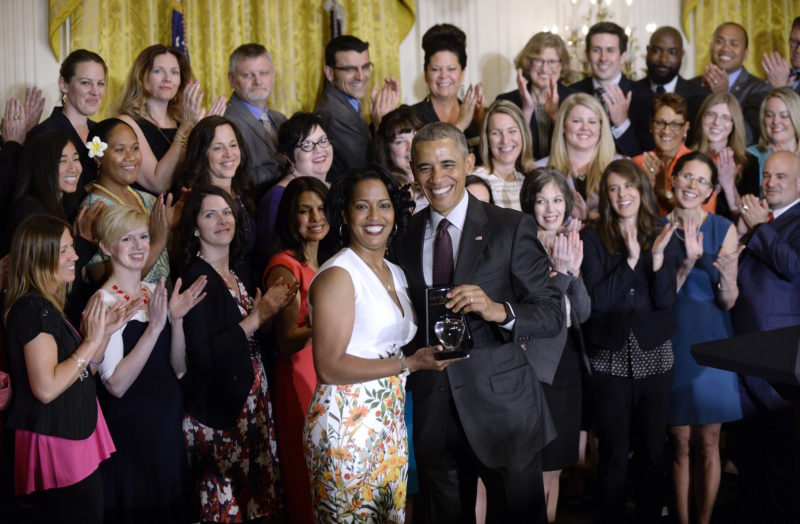 President Obama Honors 2016 trainer of the 12 months, thanks All Educators