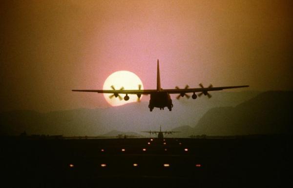 Lockheed Martin breaks floor for C-130J education center