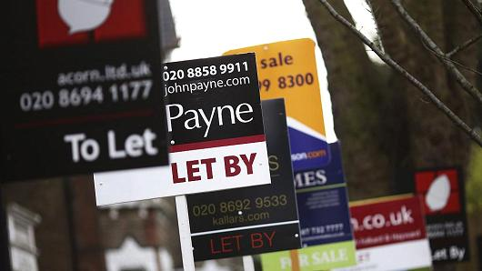 London real estate sales jump after Brexit vote