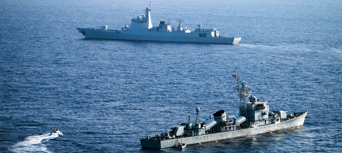 Beijing to hold joint naval exercises with Russia in disputed South China Sea