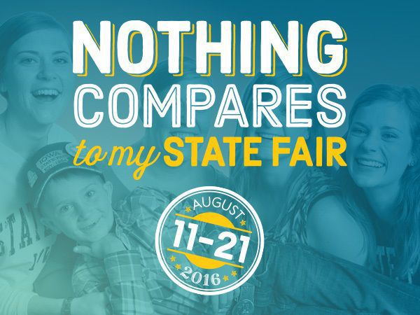 """Nothing Compares"" to agricultural education at the Iowa State Fair"