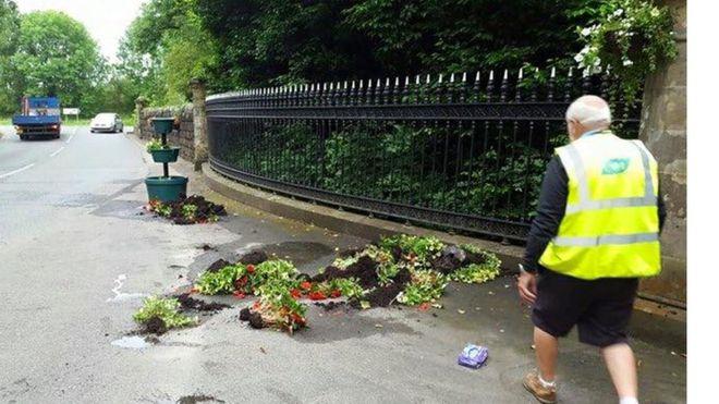 Castlecaulfield Bloom challenge disrupted by village vandals