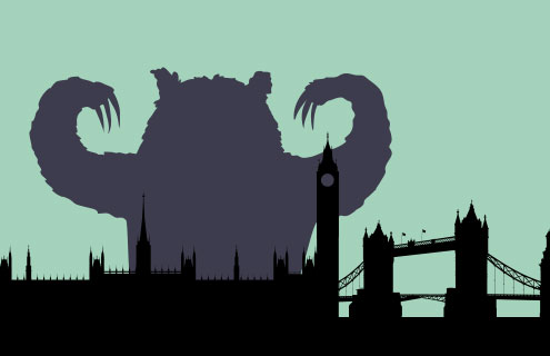 Bears sightings increase in London real estate