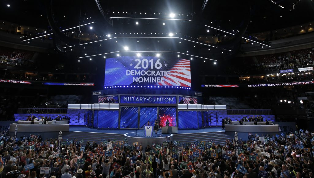 AP fact check: Hillary Clinton's speech and other remarks from DNC's final day