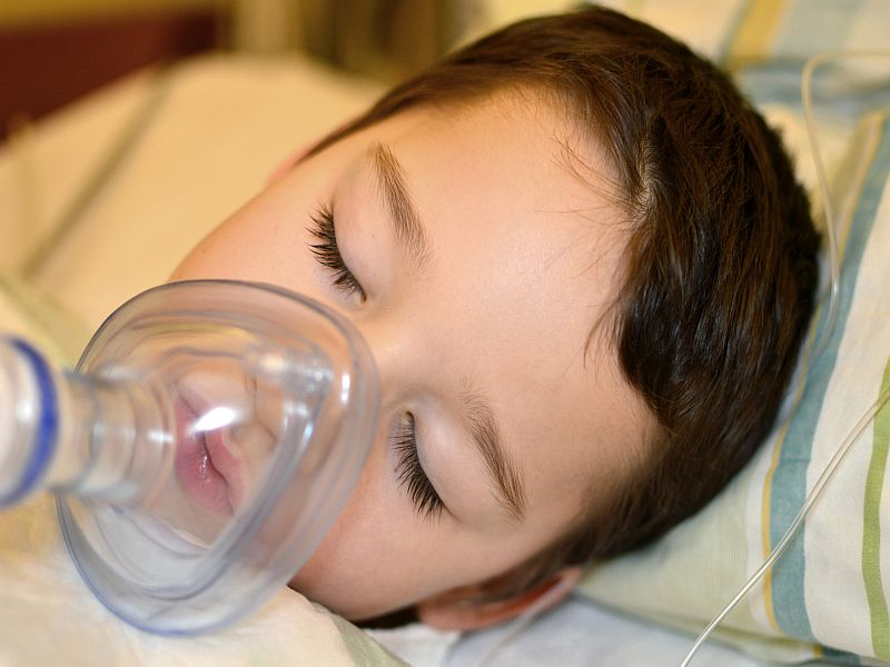 Anesthesia safe for kids, doctors' group says
