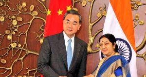 Sushma Swaraj, Chinese FM discuss India's bid for NSG