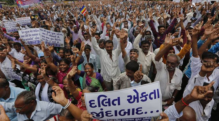 Gujarat Dalits put BJP govt on notice, protest march to reach Una on Independence Day