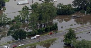 Link between climate change and flooding in south US