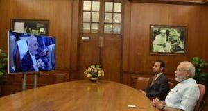 Modi inaugurates Stor Palace in Kabul via video link