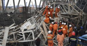 Deadly collapse at Chinese power station