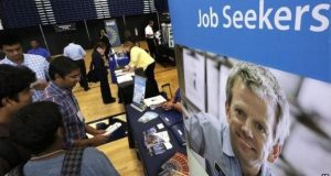 US unemployment rate falls to nine-year low