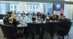 Donald Trump Strikes Conciliatory Tone in Meeting With Tech Executives