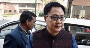 Kiren Rijiju responds to graft allegations: 'Those who plant such news will get beaten up with slippers in Arunachal'