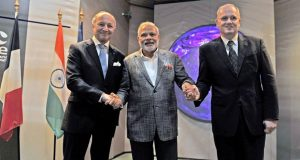 French and Indian space agencies sign a technology partnership agreement