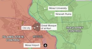 Iraq begins battle to free western Mosul from IS