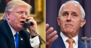 US-Australia refugee deal: Trump in 'worst call' with Turnbull