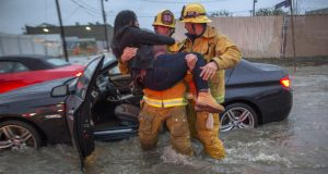 Southern California slammed by torrents of rain in deadly storm