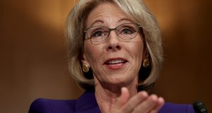 Senate set to consider, vote on Betsy DeVos as education secretary